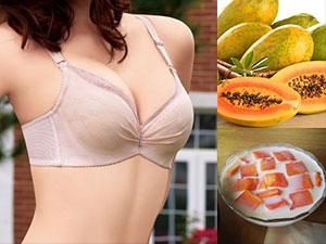 木瓜真的可以丰胸 木瓜牛奶丰胸有效?