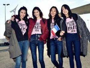 维密天使中国模特盘点 谁是七个人中最夺人眼球的