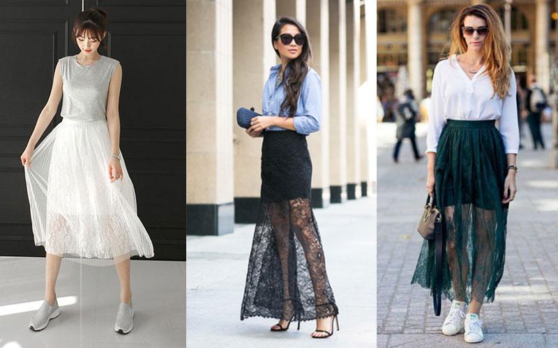 半身蕾丝长裙如何搭配 不容错过的潦倒男神时尚搭配法