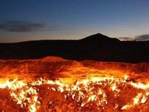 地狱之门为什么不扑灭 土库曼斯坦达瓦札地狱之门燃烧46年