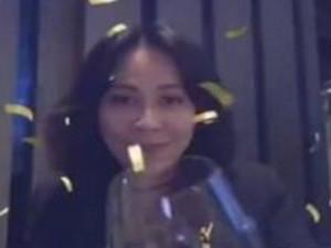 刘嘉玲庆巴西队获胜 张嘴欢呼举杯豪饮画面
