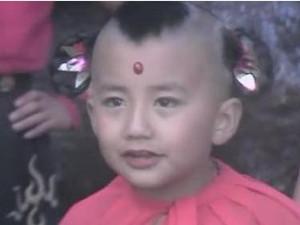 红孩儿扮演者赵欣培 有网友说赵欣培2013年