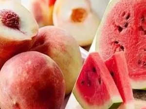 西瓜和桃子能一起吃吗 朋友圈说的一起吃相克有这个说法吗