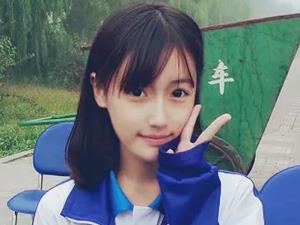 高晴个人资料 被称中国最美校服女生气质非