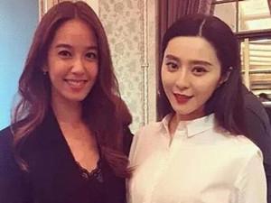 陈庭妮和范冰冰谁漂亮 一张合影照不败神话