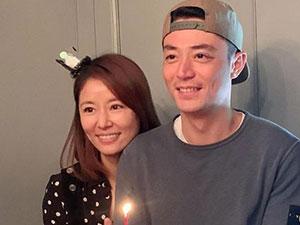 林心如为老公庆生 霍建华40岁生日网友终于看到华哥笑了