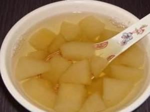 白萝卜炖雪梨可以治咳嗽吗? 止咳冰糖雪梨水的做法分享