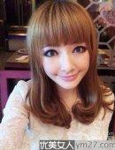漂亮齐刘海 四种发型绝佳搭配