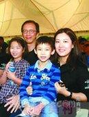 伏明霞有几个孩子,伏明霞老公和孩子照片