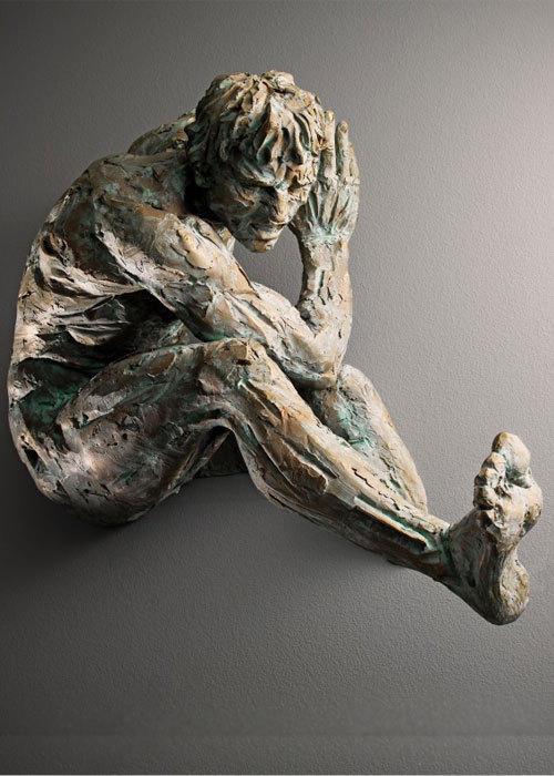 意大利雕塑家Matteo:挣脱束缚