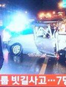 韩女团团员车祸重伤未脱险 司机涉过失致死罪