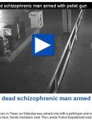 美国警察对精神病患者连开80枪:打得脸都没有了