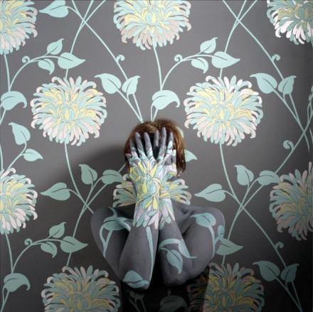 秘鲁的艺术家Cecilia Paredes的人体彩绘作