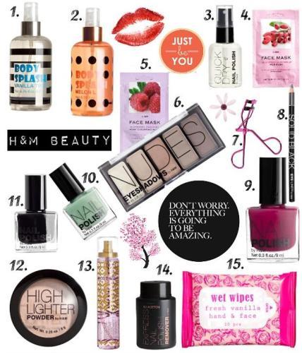 H&M涉足彩妆界