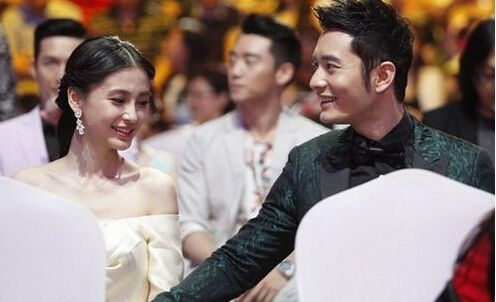 传黄晓明Angelababy10月结婚 已在拍婚纱照