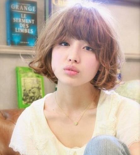 9款修颜显瘦方脸女生发型