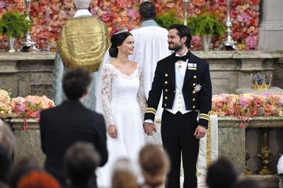 瑞典灰姑娘女模嫁王子