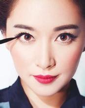 眼距宽的人如何画好眼妆