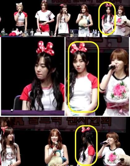 """韩女团成员被人当面说""""花瓶"""""""