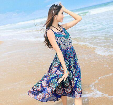 去海边穿什么裙子