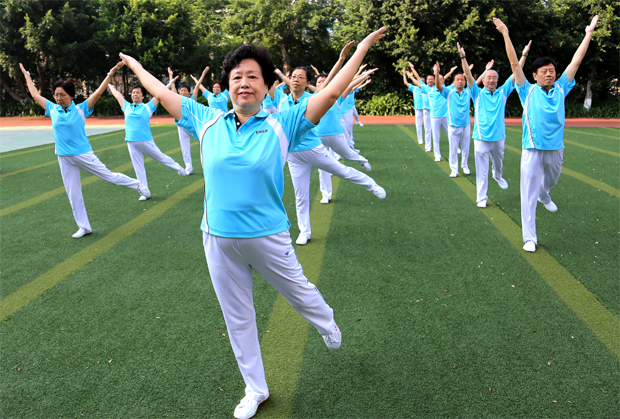 老人在家能做的健身运动