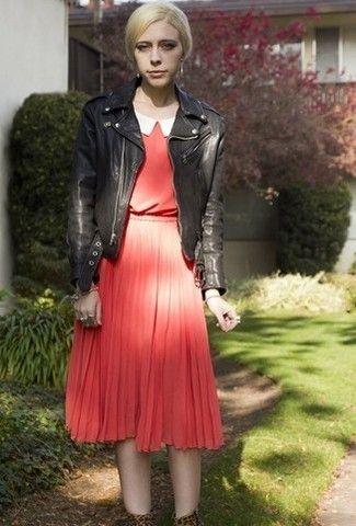连衣裙如何搭配显瘦不怕冷