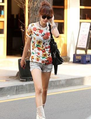 韩国长腿美女街拍图片