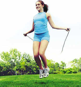 跳绳减肥法多久见效