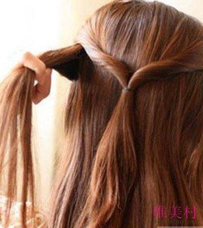 伴娘发型的编发 2图片