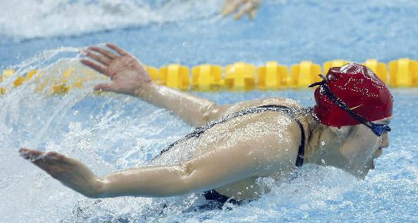 怎样学蝶泳