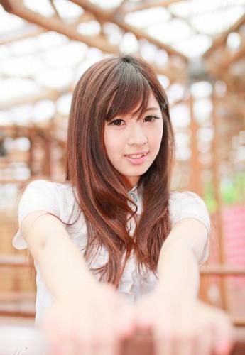 北京小姐韩萌女生清纯写真