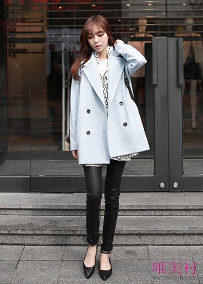 女生呢子大衣搭配什么鞋子好看 穿出潮流范儿