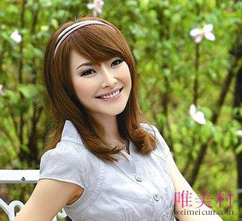 大圆脸有刘海好看还是无刘海 大圆脸女生适合的刘海发型