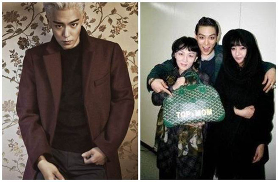 "BIGBANG T.O.P与家人合影曝光 被赞""基因好"