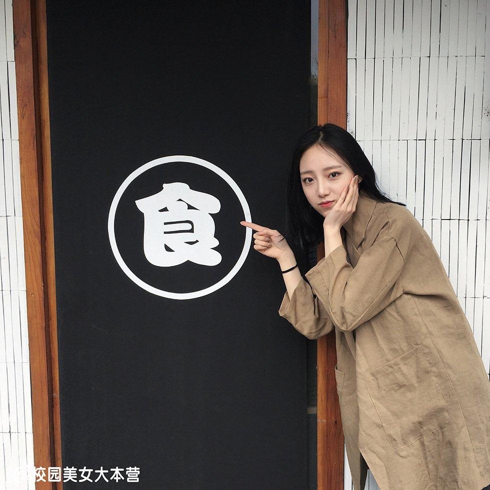 浙传校花吕咏蓝韩范十足写真