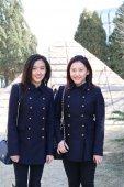 北电艺考成绩 双胞胎美女入选表演系