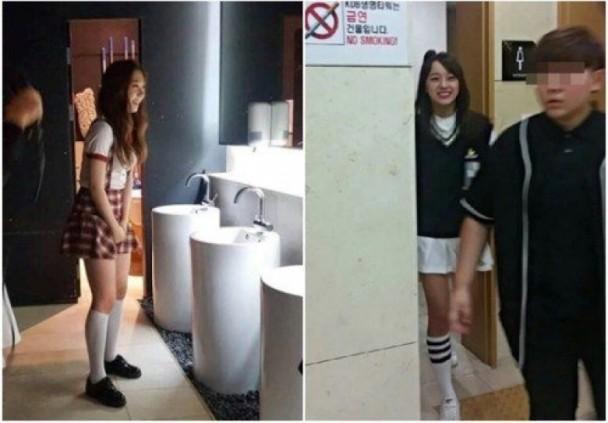 韩女团成员遭疯狂粉丝骚扰 跟进厕所拍照