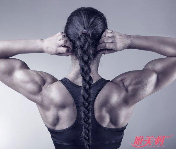 背部肌肉锻炼的方法