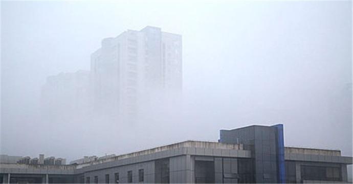 重庆大雾黄色预警 大白天也伸手不见五指