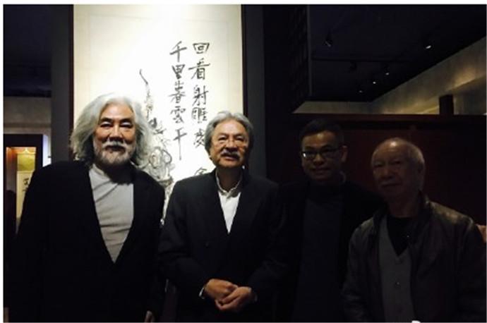 香港金庸馆开幕,热烈庆贺香港回归二十周年