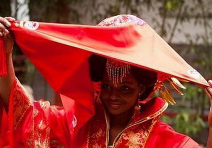 大爷迎娶非洲新娘