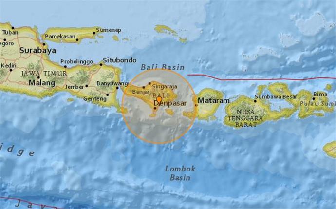 巴厘岛海域地震 结婚圣地依然备受游客推崇!