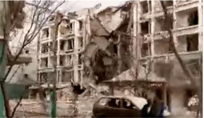 内蒙古一居民楼爆炸,原因是政府提供的天然气管道?