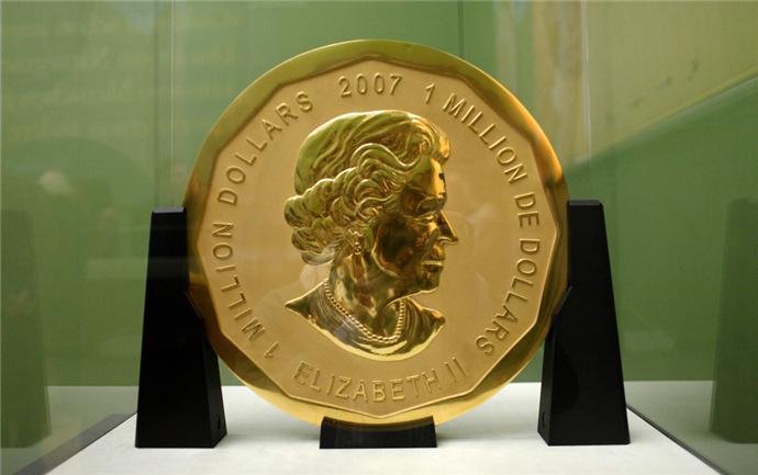 世界最大金币被偷