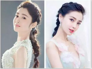 李心艾和杨颖这么相似?当红女星撞脸趣事!