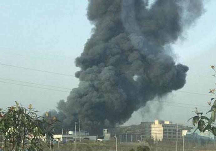 安徽发生闪爆事故