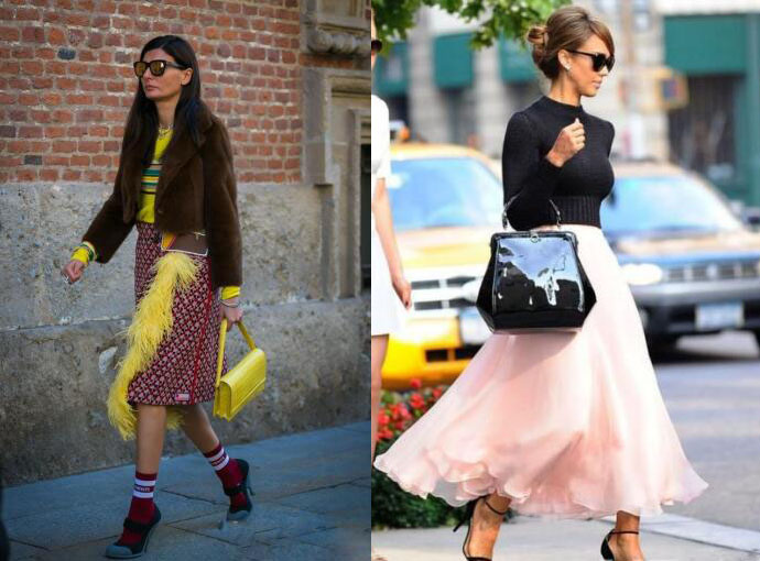 针织衫搭配鞋子图片