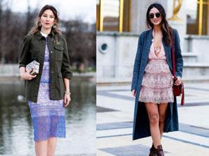蕾丝连衣裙怎么搭配外套 教你潮搭术凸显迷人气质