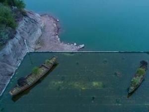浙江现屋顶养鱼 网友喊是小型精致的人间天堂
