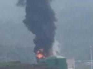 重庆储油罐爆炸 火势凶猛好吓人系人为因素造成